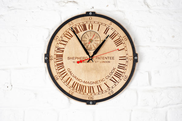 Buy Greenwich Mean Time 24 Hour Wall Clock At Woodandroot