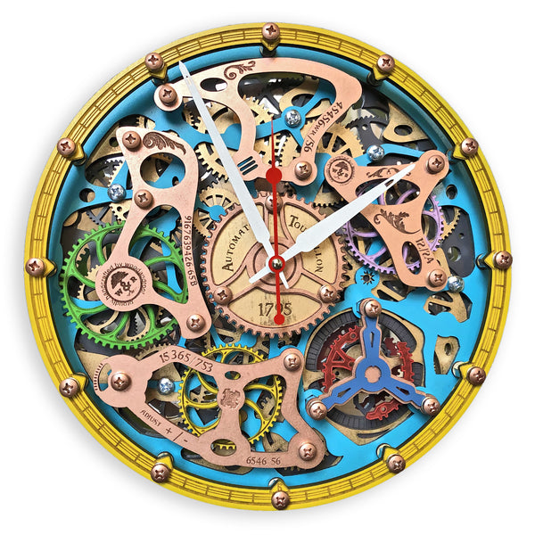 Automaton Tourbillon Wall Clock - WOODANDROOT