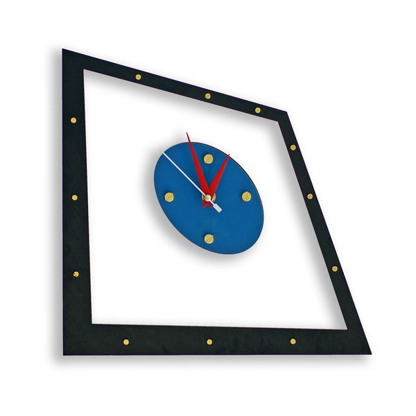 Composition Numero Quattro Wall Clock - WOODANDROOT
