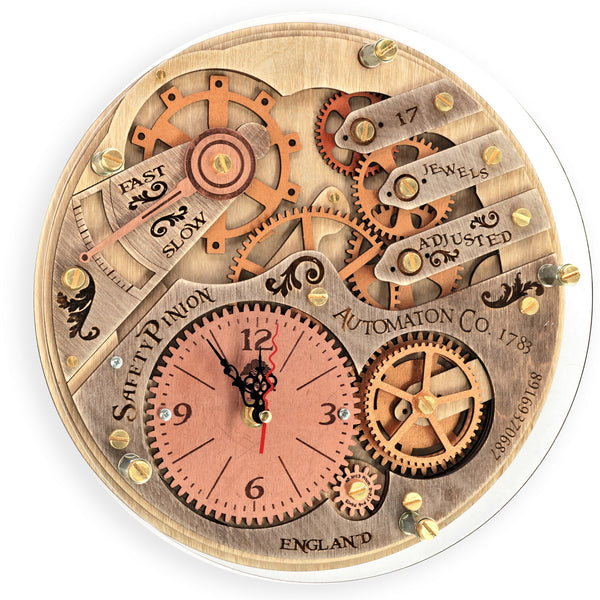 Automaton 1783 Wall Clock - WOODANDROOT