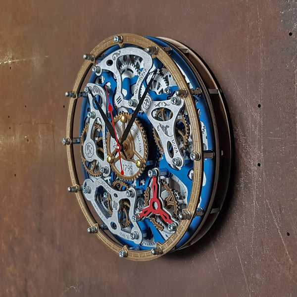 Buy Automaton Tourbillon Wall Clock At Woodandroot For