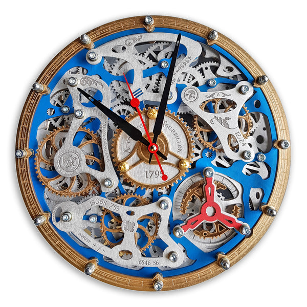 Automaton Tourbillon Moving gear - WOODANDROOT