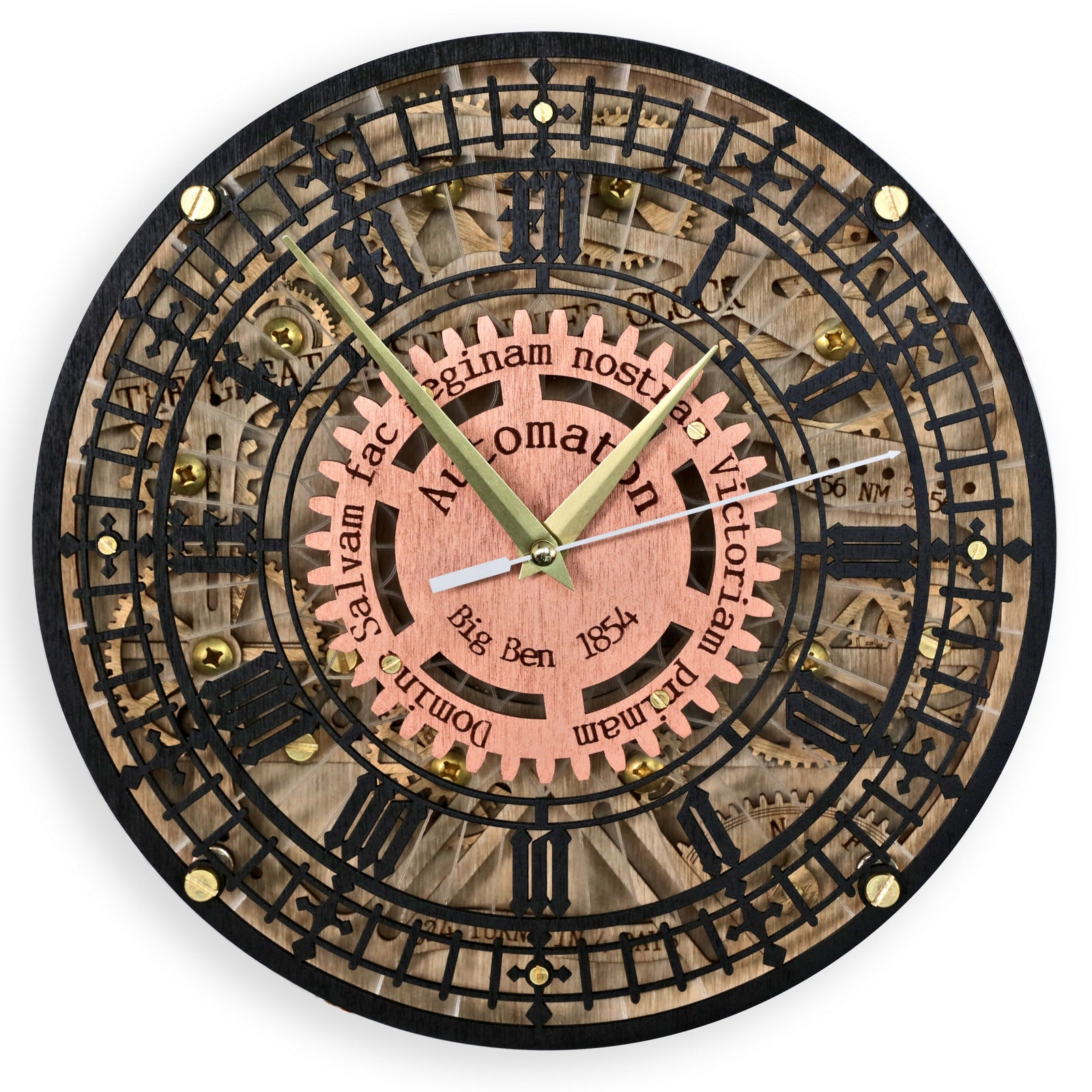 Buy Big Ben Automaton Wall Clock At Woodandroot For Only 8800