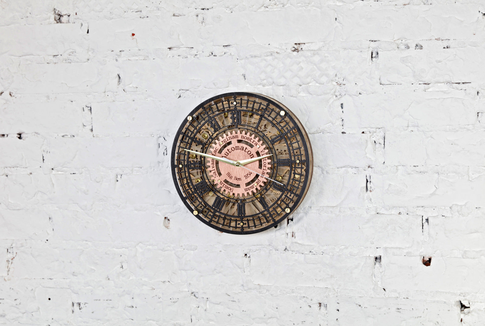 Big Ben Automaton Wall Clock - WOODANDROOT