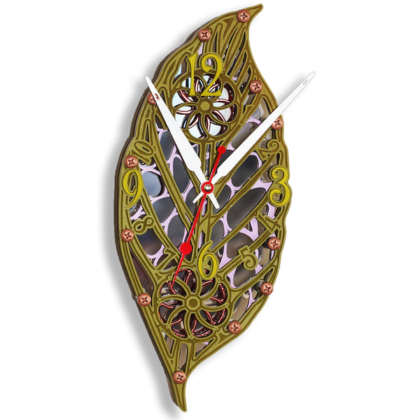 Automaton Enchanted Forest III Wall Clock - WOODANDROOT