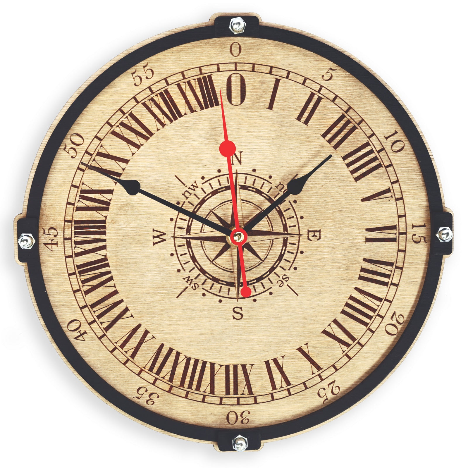 shop for all wallclocks at woodandroot adventures alice animals