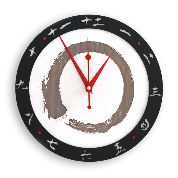 Zen Wall Clock - WOODANDROOT