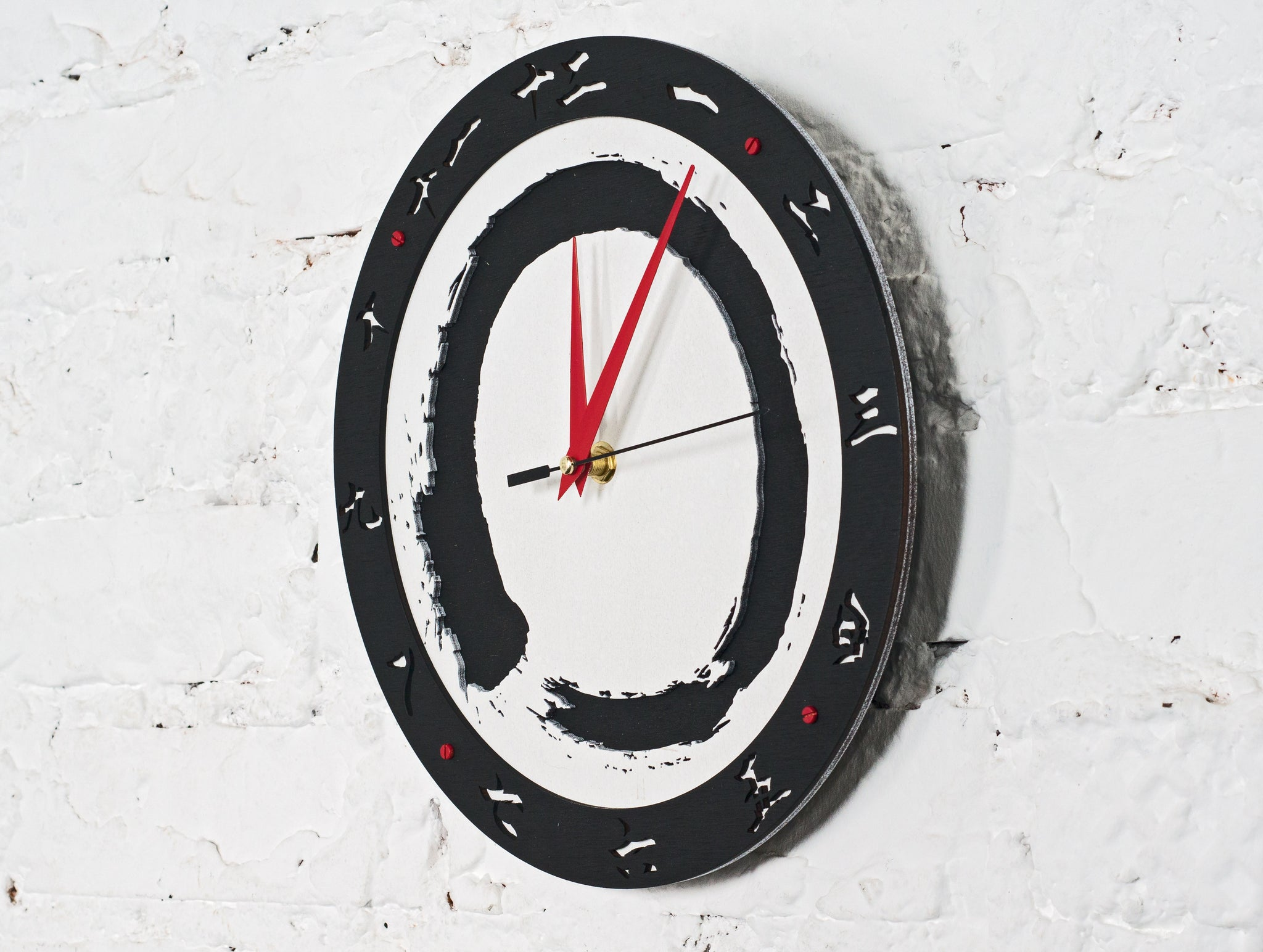 Enso Wall Clock - WOODANDROOT