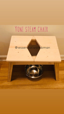 Yoni steam chair only
