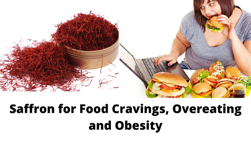 Saffron for Food Cravings, Overeating and Obesity
