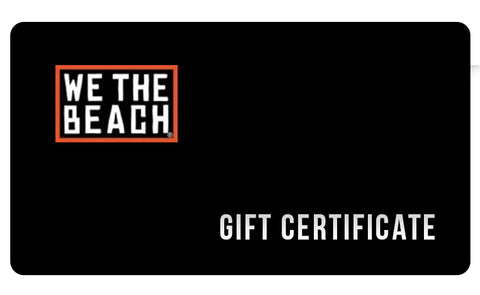 WE THE BEACH Gift Certificate