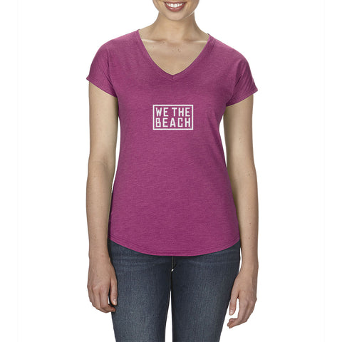 Ladies Blend V-Neck