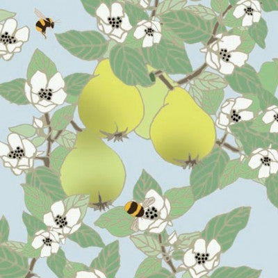 Quince With Bees