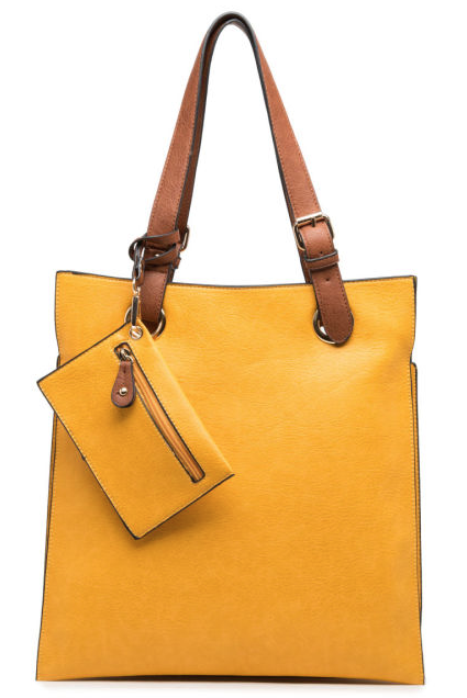 Portrait Bag Yellow