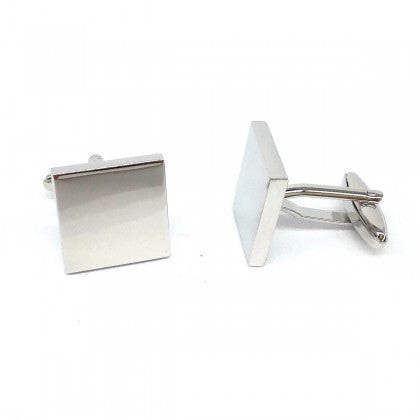 Engravable Square Cufflinks