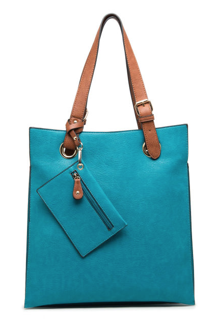 Portrait Bag Teal