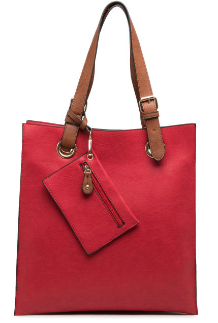 Portrait Bag Red