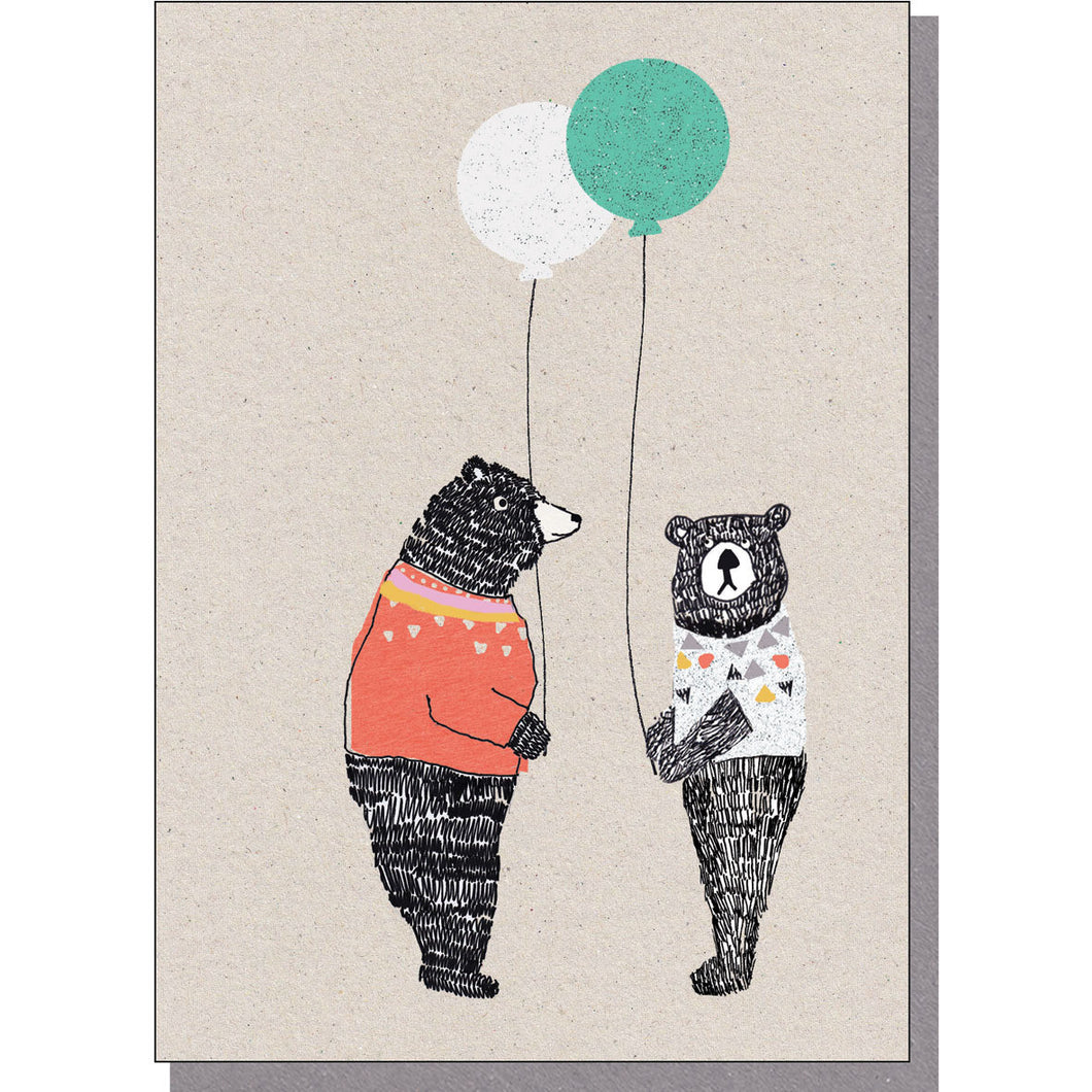 Bears With Balloons