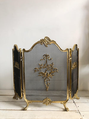 Vintage French Fire Screen