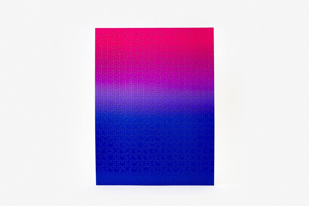 Gradient Puzzle in Blue/Pink by Areaware