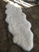 Double Sheepskin Throw