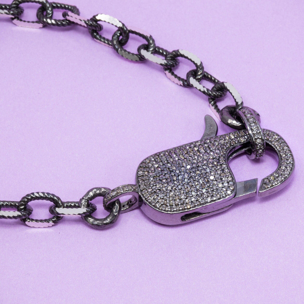 Leonora Padlock Necklace by Paula Rosen