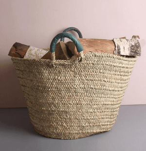 Leather Handle Baskets