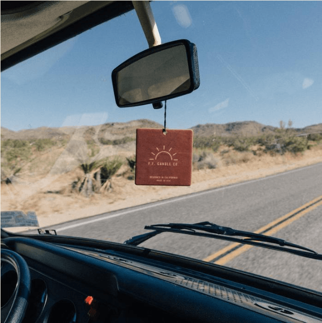 Teakwood & Tobacco Car Fragrance by PF Candle Co.