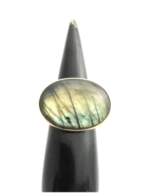 Labradorite Ring by CLP Jewelry