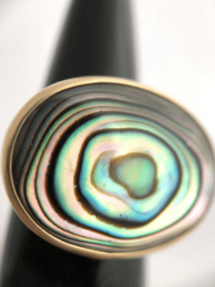 Abalone Ring by CLP Jewelry
