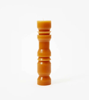 Totem Candles in Terracotta by Areaware