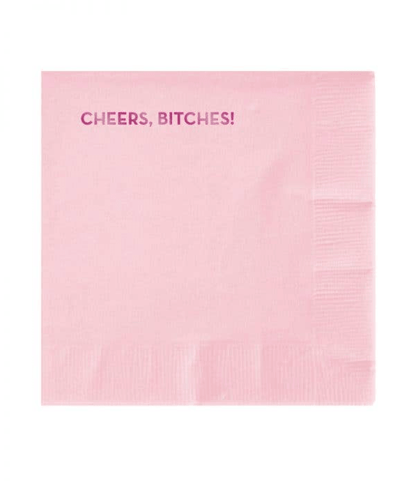 Cheers B*tches Napkins by Sapling Press