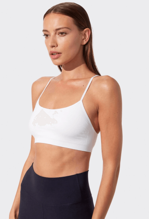 Loren Seamless Bra in White by Splits59
