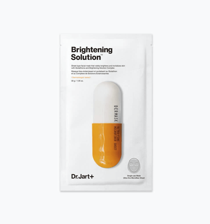 DR. JART+ Dermask Micro Jet Brightening Solution Sheet Mask by Wanderlust Beauty