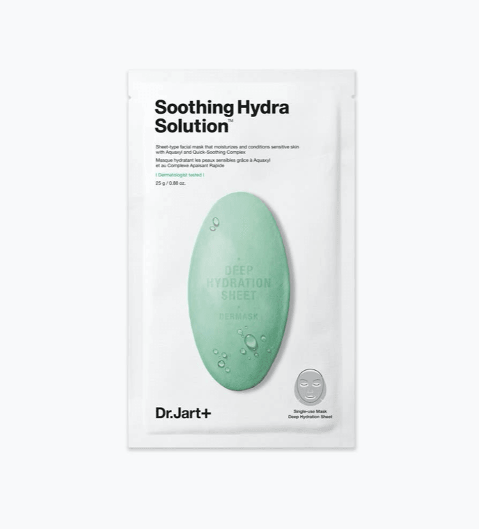 DR. JART+ Dermask Soothing Hydra Solution Sheet Mask by Wanderlust Beauty