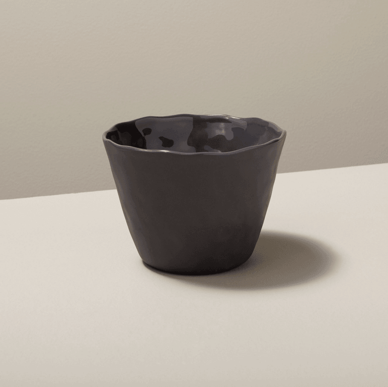 Stoneware Tumbler Large in Slate by Be Home