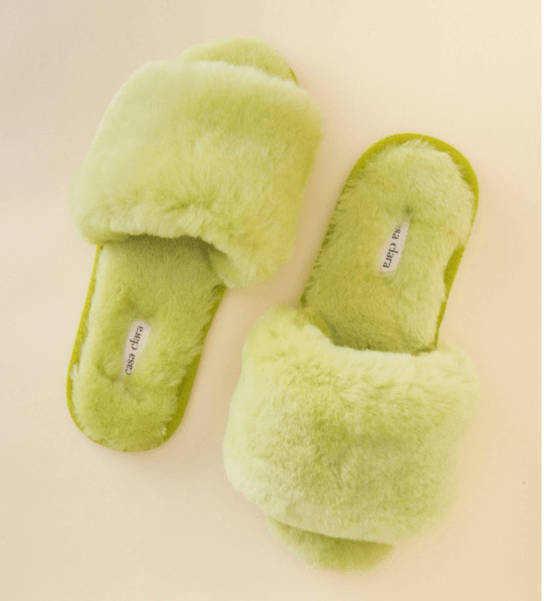 Frankie Slides in Chartreuse by Casa Clara