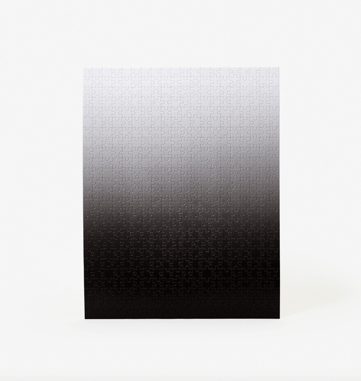 Gradient Puzzle White/Black