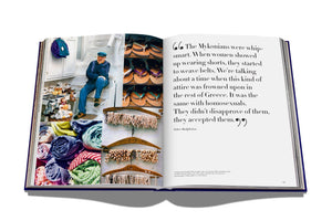 Mykonos Muse Coffee Table Book by Assouline