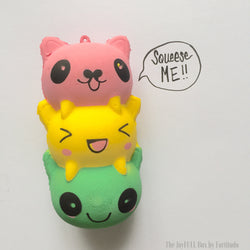 Cute Kitty Icecream Squishy (Touch and Feel Tactile tools)