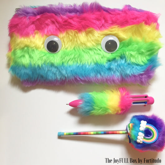 Furry Rainbow Cumbo Set  (Touch and Feel Tactile tools)