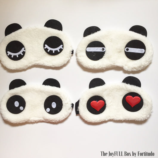Relaxing Panda-eye Eye Mask (Touch and Feel Tactile and Visual tool)