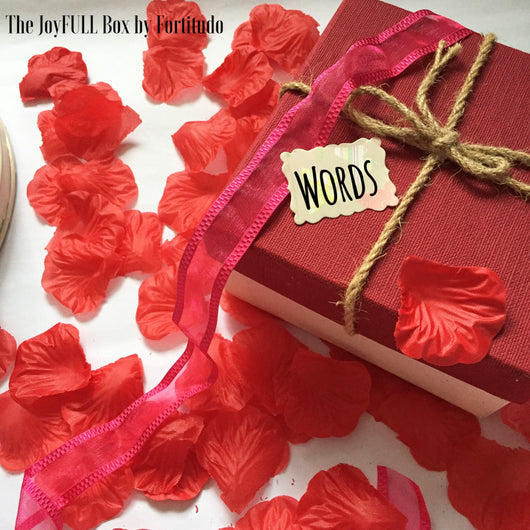 The JoyFULL Box- Valentine's Day (Words of Affirmation)