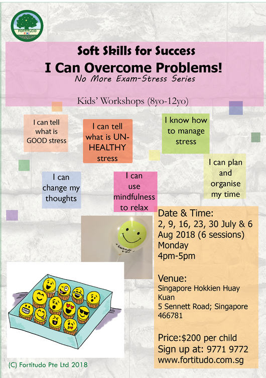 I Can Overcome Problems (no-more exams stress series) 8Y-12Y