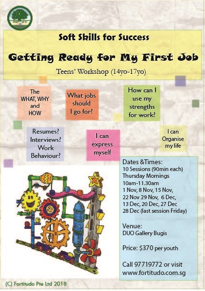 Getting Ready for My First Job - Pre-Vocational Skills for Youths