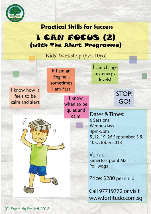 I Can Focus  - with The Alert Programme (6Y-10Y)