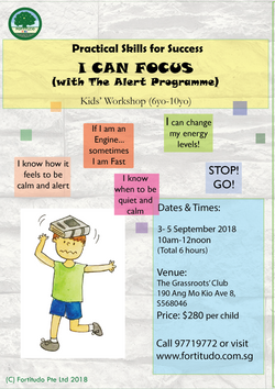 I Can Focus  - School Holiday Crash Course (6Y-10Y)