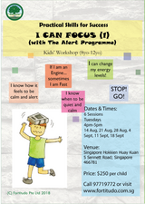 I Can Focus  - with The Alert Programme (8Y-12Y)