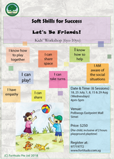 Let's Be Friends! (6Y-10Y kids' workshop)