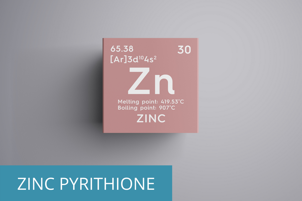 zinc pyrithione is an ingredient that helps you avoid acne in shampoo and conditioner
